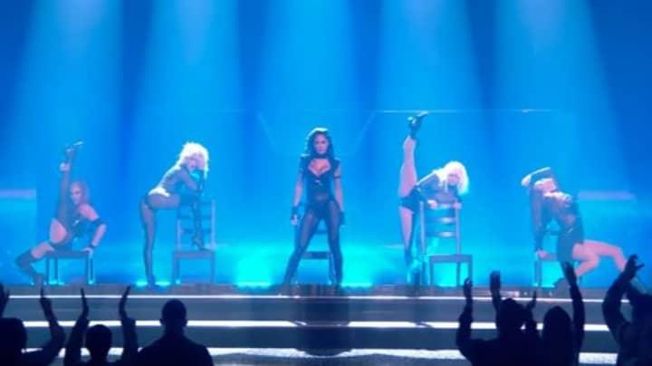 Nicole Scherzinger's X Factor Performance Slammed By Viewers