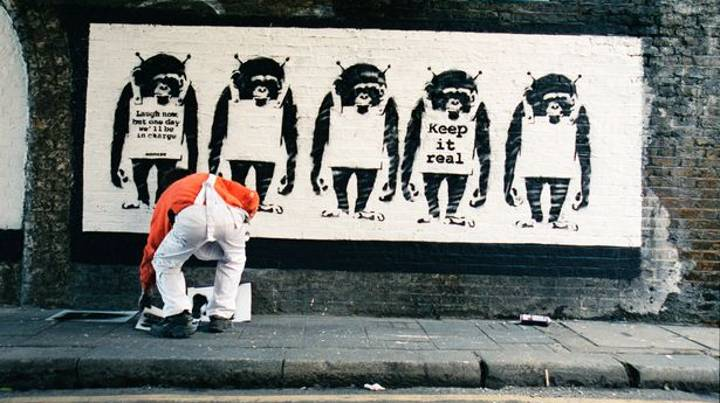 First Pictures Of Banksy Are To Be Released By Long-Time Collaborator