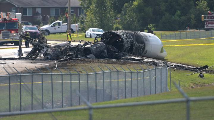 Plane Carrying NASCAR Legend Dale Earnhardt Jr. And Family Bursts Into Flames