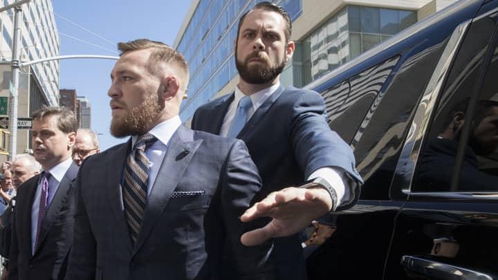 Conor McGregor Speaks Of Regret For Bus Brawl After Court Appearance