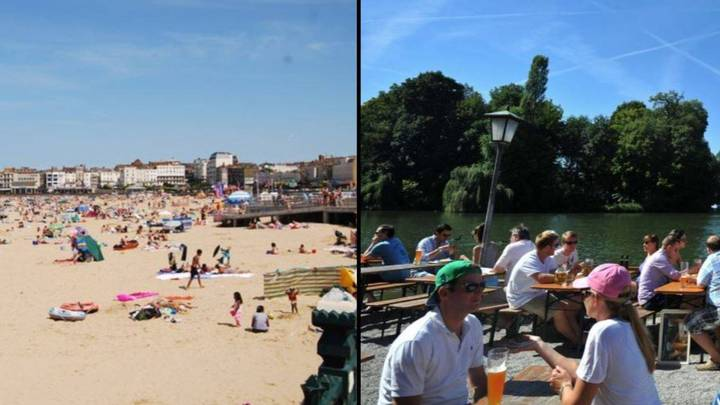 Today Is Officially The Hottest July Day Ever In UK History