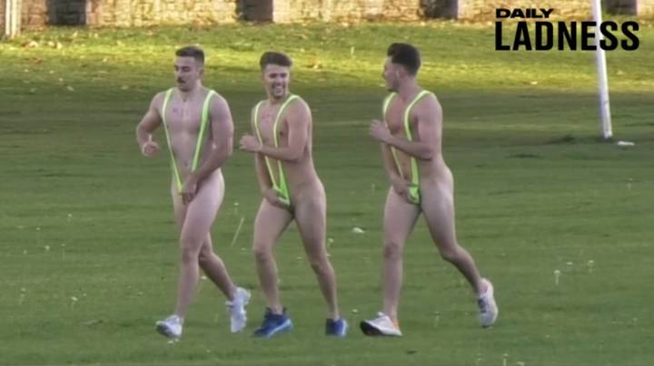 Pals Take Part In 'Humiliating' Challenges To Raise Money For Charity