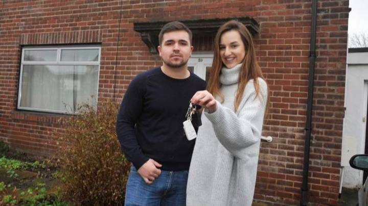 Couple Aged Just 18 And 20 Manage To Buy Their First Property