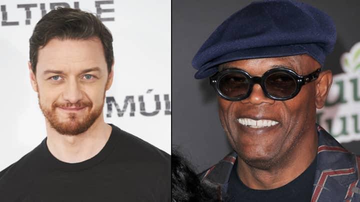 Samuel L. Jackson Teases New Movie 'Glass' And Praises James McAvoy's Performance