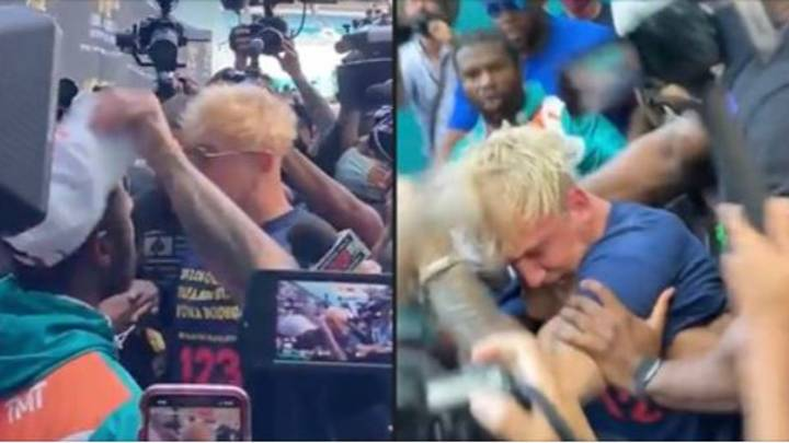 Jake Paul Left With 'Black Eye' And 'Busted Tooth' After Floyd Mayweather Confrontation