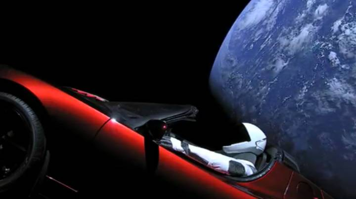 Elon Musk's Tesla Roadster Has Completed A Lap Of The Sun