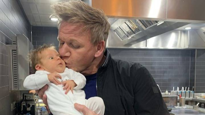 Gordon Ramsay's Child Has Had His First Haircut And He's Not Happy