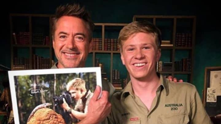Robert Irwin Shares Photos Of Himself With Robert Downey Jr Taken 16 Years Apart
