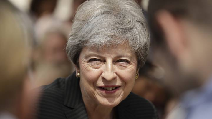Theresa May Spotted Dancing The Night Away To Abba At Henley Festival