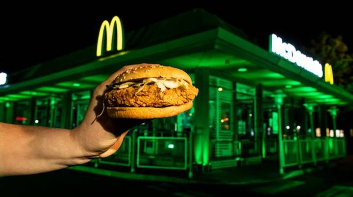 McDonald's Launching Its Hottest Ever Burger In UK