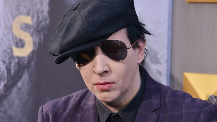 Marilyn Manson Shares Young Photo Of Him And His Dad And He Looks Unrecognisable