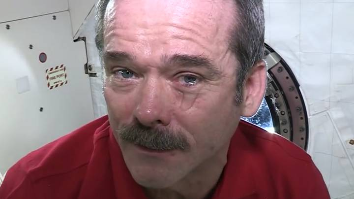 Astronaut Shows What Happens When You Cry In Space