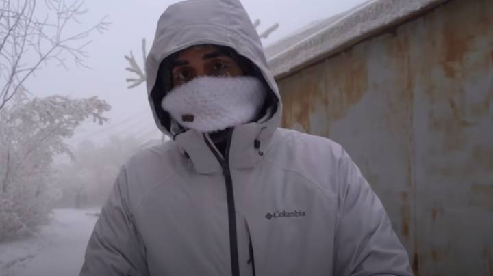 Man Visits The Coldest City On Earth And It Took Him 30 Hours To Get There