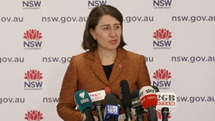 NSW Premier Outlines Roadmap Once State Gets To 70% Vaccinated Rate