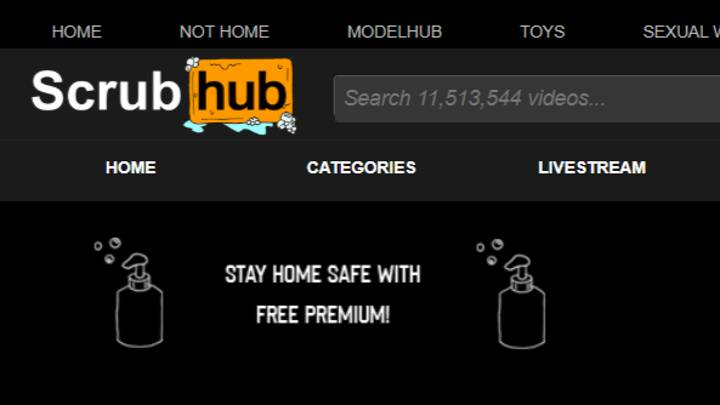 Pornhub Launches Parody Site Scrubhub To Remind Us To Wash Our Hands