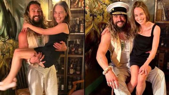 Emilia Clarke Says Jason Momoa Got Her 'As Drunk As Humanly Possible' During Reunion