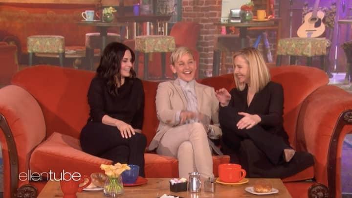 Ellen DeGeneres Shocks Audience With Surprise 'Friends' Reunion