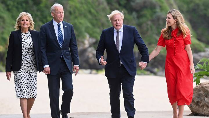 Joe Biden Makes Savage Remark To Prime Minister About Marriage