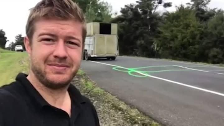 Man Spends Three Years Spray-Painting Penises Around Potholes