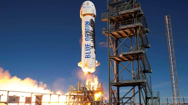Jeff Bezos Wants To Fly First Passengers Into Space By April