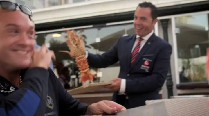 Tyson Fury Paid €200 To Release Two Lobsters Back Into The Sea