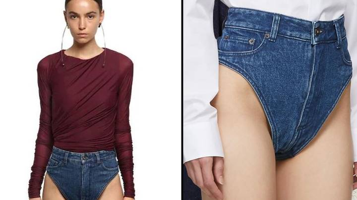 Fashion Brand Is Selling 'Denim Panties' For £235 That Flash Your Bum Cheeks
