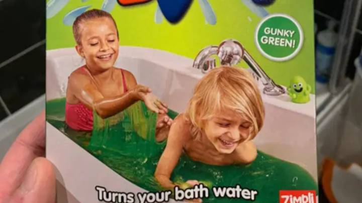 Kids Are Loving £2.99 Powder That Turns Bath Water Into Slime