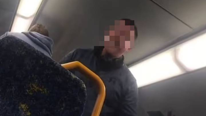 Aussie Men Scream At Teenagers Playing Loud Music On Packed Train