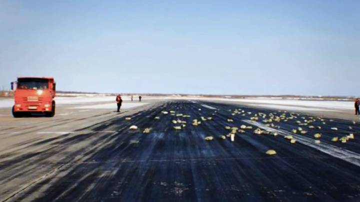 Tons Of Gold, Platinum And Diamonds Worth £271 Million Falls Out Of Russian Plane