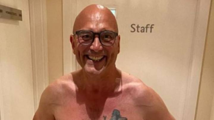 Gregg Wallace Shows Off 'Almost Six Pack' After Impressive Weight Loss