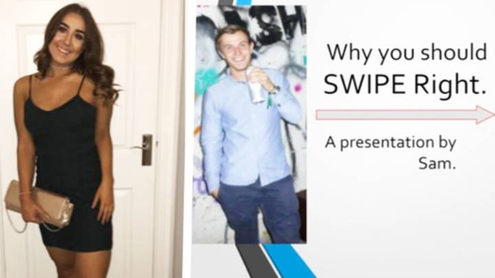Guy Creates Presentation For Tinder Profile And People Are Seriously Impressed