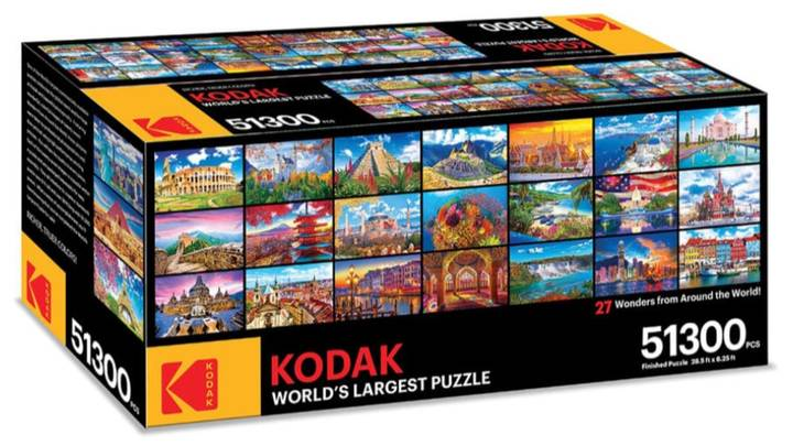 Kodak Is Selling The World's Largest Jigsaw Puzzle