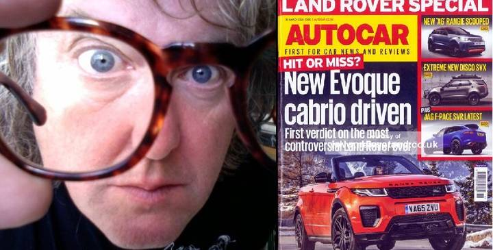 James May's Dismissal From Autocar Magazine Is The Most James May Story Ever