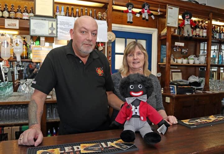 Pub Landlord Refuses To Remove 'Racist' Golliwog Dolls Despite Complaints
