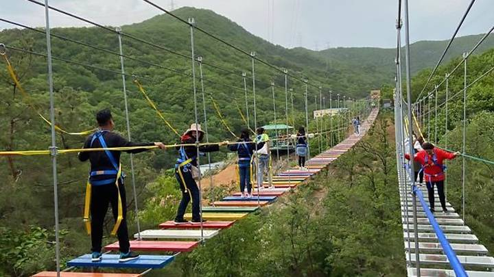 11-Year-Old Girl Falls 60 Metres From Suspension Bridge At Chinese Tourist Park