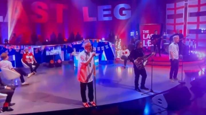 David Baddiel And Frank Skinner Reunite To Sing Three Lions
