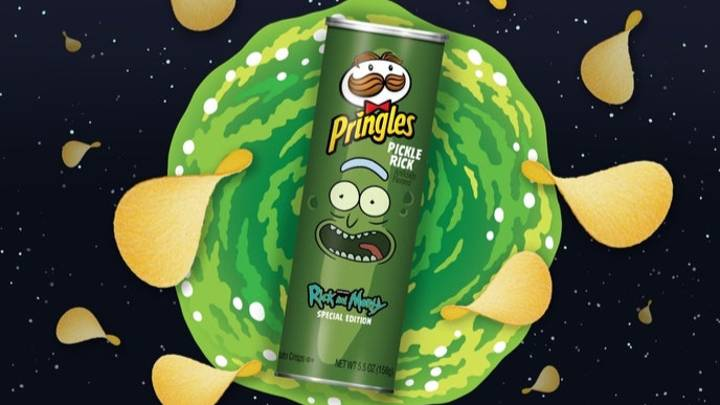 Rick And Morty Team Up With Pringles For Pickle Rick Flavour