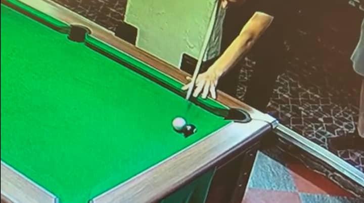 Viewers Baffled By Winning Pool Shot That 'Doesn't Make Sense'