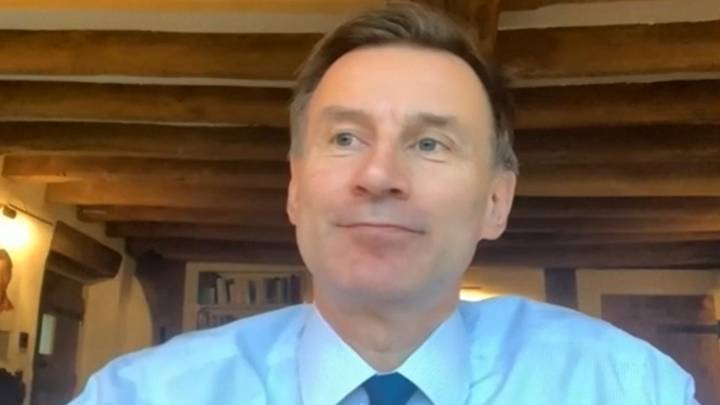 Jeremy Hunt Says People Self-Isolating Should Be Tracked Using GPS
