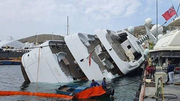A Saudi Prince's £65m Yacht Capsized On Its Way To Be Repaired