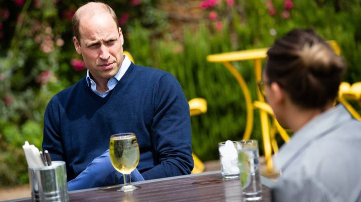 Prince William Has Pint Of Cider As Pubs Reopen In England
