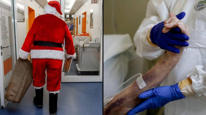 18 Dead After Santa Who Visited Care Home Tests Positive For Covid