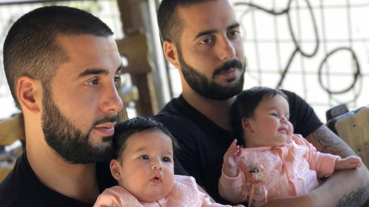 Identical Twin Brother Welcomes Identical Twin Daughters