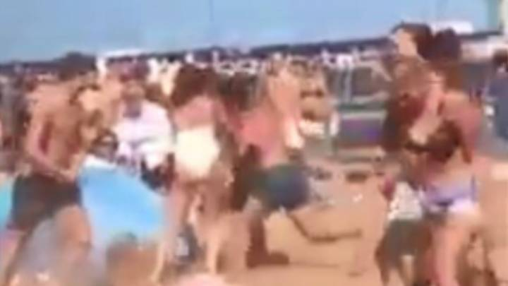 Bank Holiday Brawl Breaks Out At Broadstairs Beach In Kent