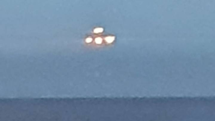 'UFO' Spotted Hovering Over Devon Seafront 'For 10 Seconds'
