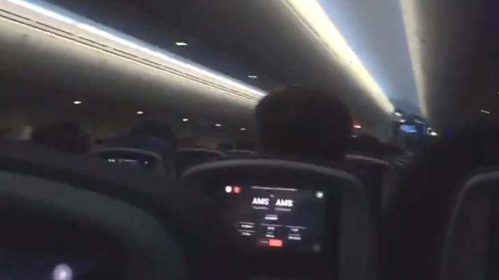 Passenger Screams As Plane Attempts To Land During Storm Ciara