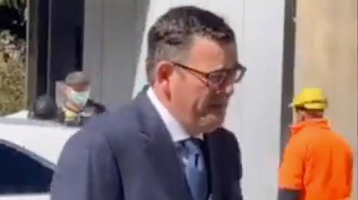 Victoria Police Are Investigating Daniel Andrews For Not Wearing A Face Mask In Public