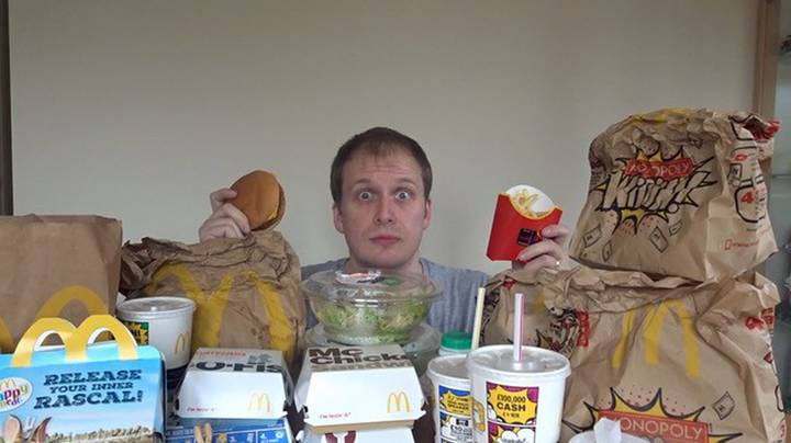 Man Eats Nothing But McDonald's For A Week And Loses Weight