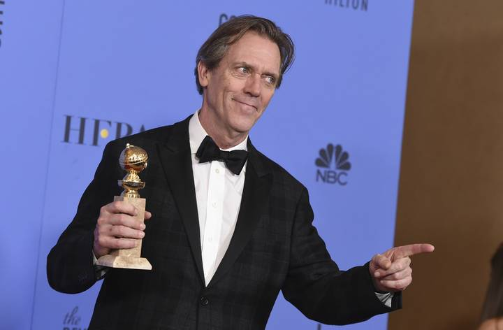Hugh Laurie Couldn't Resist Taking A Pop At Trump