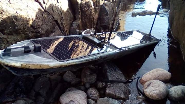 Mysterious Unclaimed Spy Boat Washes Up On Remote Scottish Island